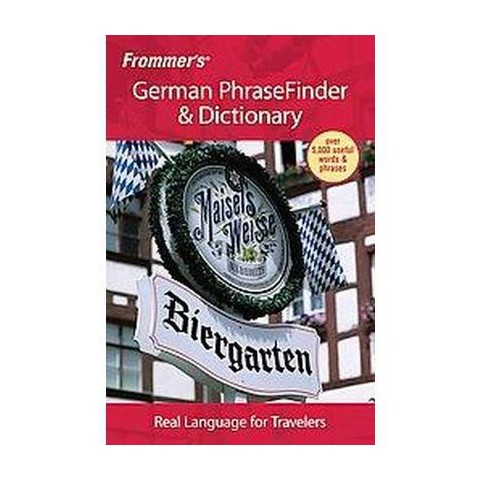 Frommer's German PhraseFinder & Dictionary (Bilingual) (Paperback)