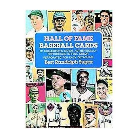 Hall of Fame Baseball Cards (Paperback)