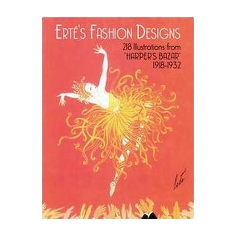 Erte's Fashion Designs (Paperback)