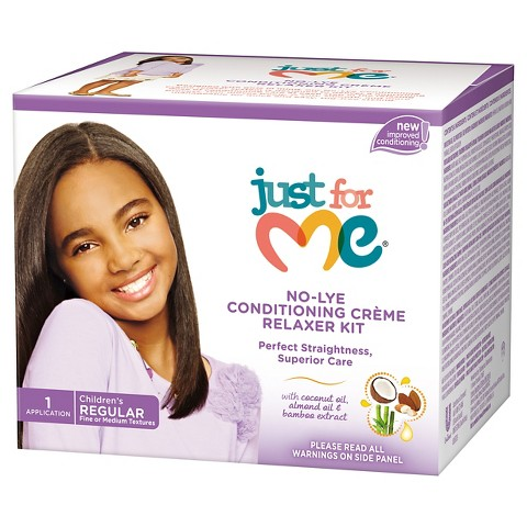 Just For Me No-Lye Conditioning Crème Regular Relaxer Kit