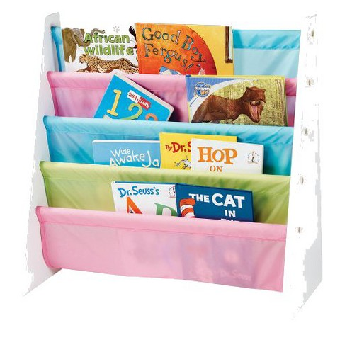 Tot Tutors Pastel Book Rack