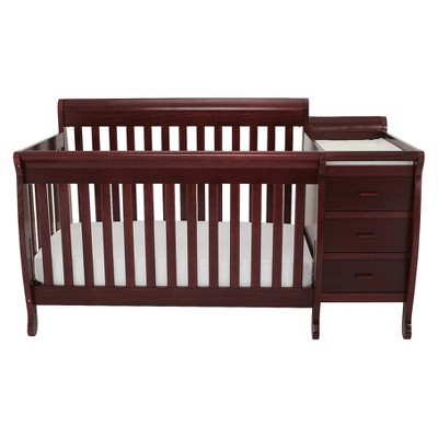 Mikaila Milano 3-in-1 Crib and Changer Combo - Espresso