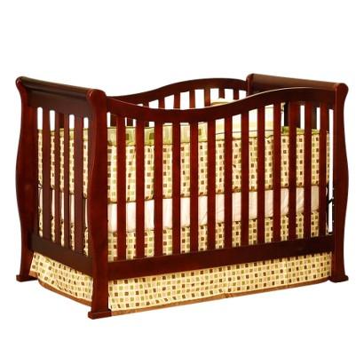 Mikaila Zoe 3-in-1 Convertible Crib - Cherry
