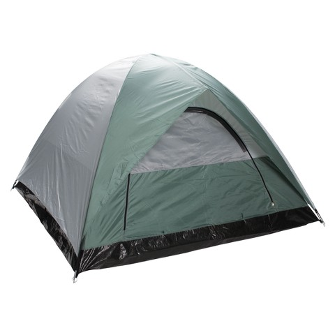 Stansport Black Granite McKinley-2 Pole Dome Tent - Green