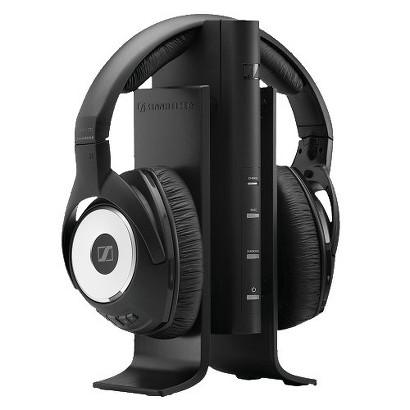 Sennheiser KLEER Wireless Over-the-Ear Headphones (RS170) with Surround Simulation - Black