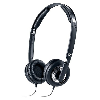 Sennheiser Noise Cancelling Collapsible On-the-Ear Headphones (PXC250-II) with Carrying Case - Black