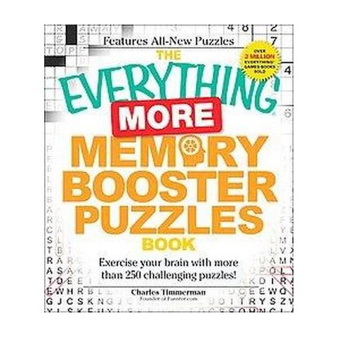 The Everything More Memory Booster Puzzles Book (Paperback)