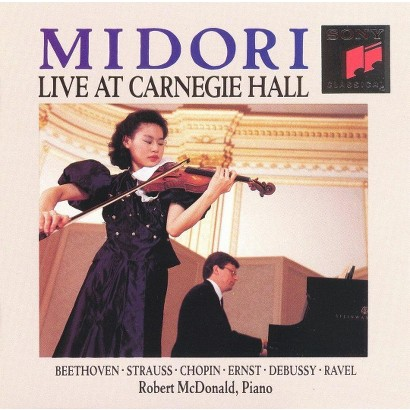 Midori Live at Carnegie Hall