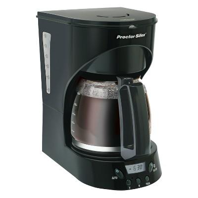 Proctor Silex 12-Cup Digital Coffeemaker- 43574Y