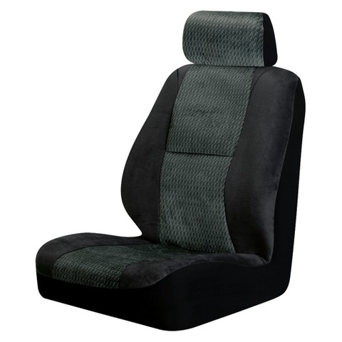 Fairfield 2-pk. Low Back Bucket Seat Cover - Black
