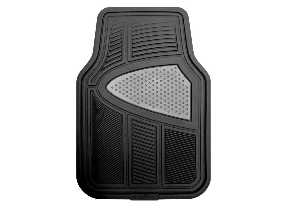 Kraco 4-pc. Black Multi-Season Automotive Floor Mats