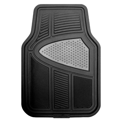 Kraco 4-pc. Black Multi-Season Automotive Floor Mats