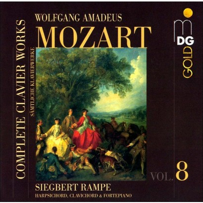Mozart: Complete Clavier Works, Vol. 8