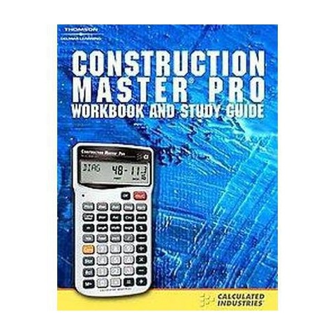 Construction Master Pro Workbook And Stu (Spiral)