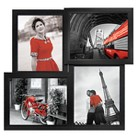 Mecca 4-Opening Picture Frame - Black