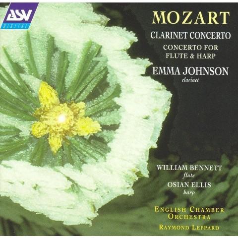 Mozart: Clarinet Concerto; Concerto for Flute & Harp