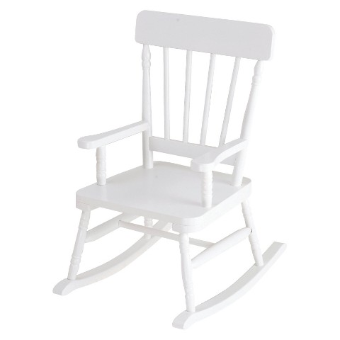 Levels Of Discovery Simply Classic Kid's Rocker - White