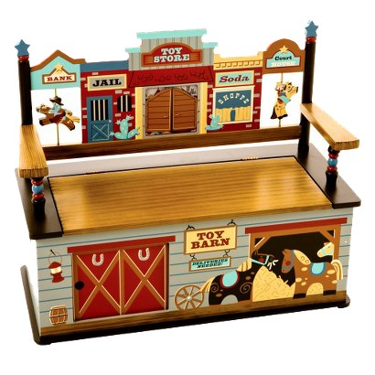 Levels of Discovery Multi Wild West Bench Seat with Storage