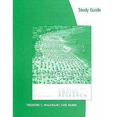 The Basics of Social Research (Study Guide) (Paperback)