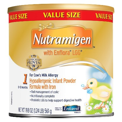 Enfamil Nutramigen with Lipil Infant Formula Powder - 19.8 oz. (4 Pack)