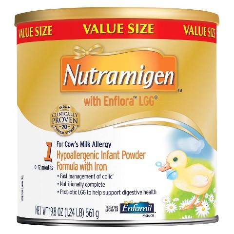 Enfamil Nutramigen with Lipil Infant Formula Powder - 19.8 oz. (4 Pack)