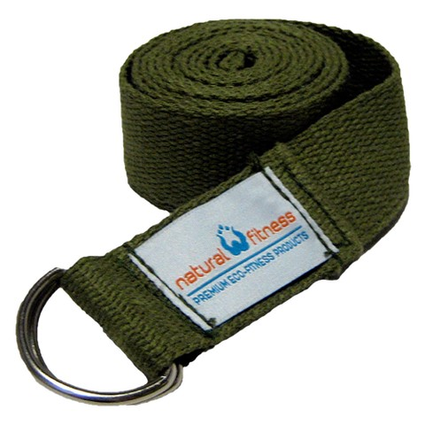 Natural Fitness Hemp Yoga Strap - 6-Ft., Olive