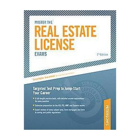 Peterson's Master the Real Estate License Exams (Paperback)