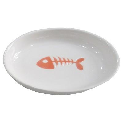 Ceramic Orange Cat Bowl - Boots & Barkley™