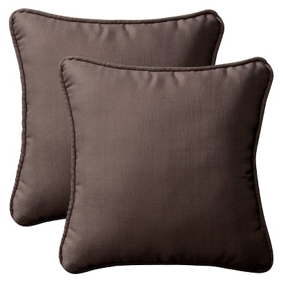Outdoor Cushion & Pillow Collection - Brown