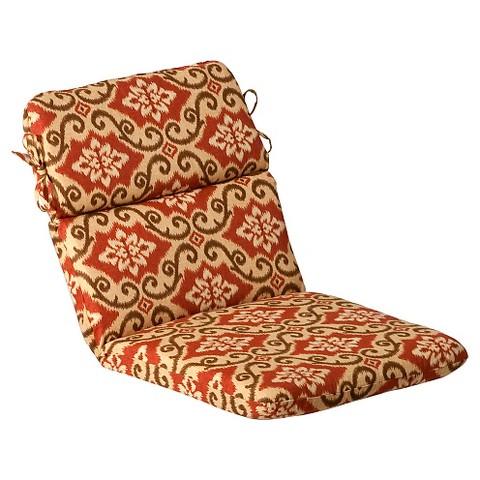 Outdoor Chair Cushion Tan Orange Geometric Target