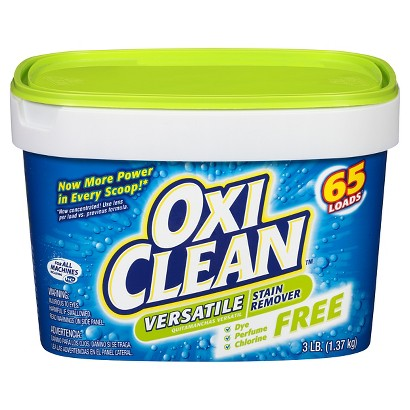 OxiClean Versatile Stain Remover Free 53 Loads 3 lb