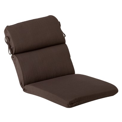 Outdoor Chair Cushion Brown Tar