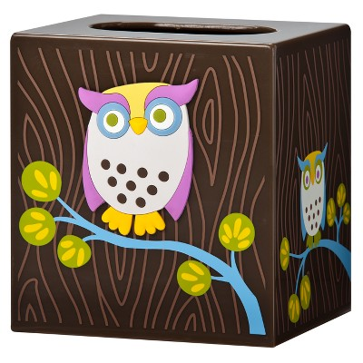 Awesome Owls Tissue Box