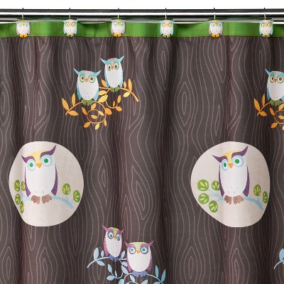 Awesome Owls Shower Curtain - 70x71""