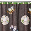 """Awesome Owls Shower Curtain - 70x71"""""""