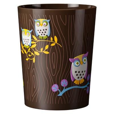 Awesome Owls Wastebasket