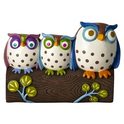 Awesome Owls Toothbrush Holder