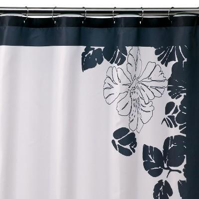 Ink Blot Shower Curtain