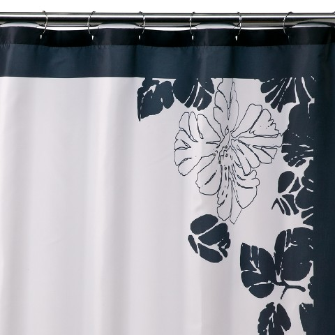 Ink Blot Shower Curtain
