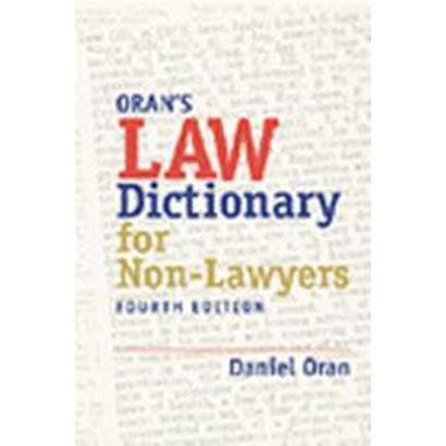 Law Dictionary for Nonlawyers (Subsequent) (Paperback)