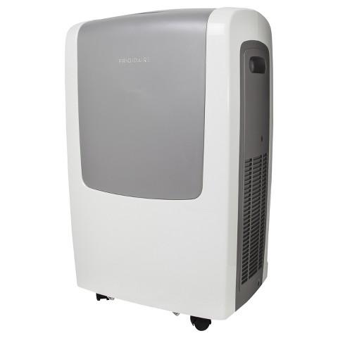 Frigidaire FRA123PT1 12,000 BTU Portable Air Conditioner with Remote Control - White/Grey