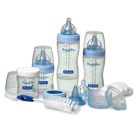 The First Years Breastflow Bottle Gift Set