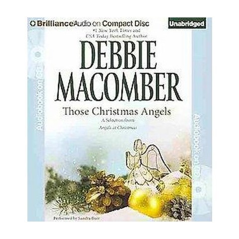 Those Christmas Angels (Unabridged) (Compact Disc)