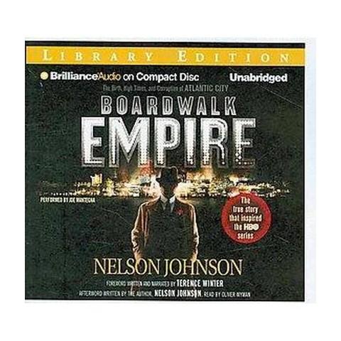 Boardwalk Empire (Unabridged) (Compact Disc)
