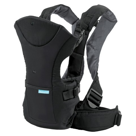 Infantino Flip Front or Rear Facing Baby Carrier - Black