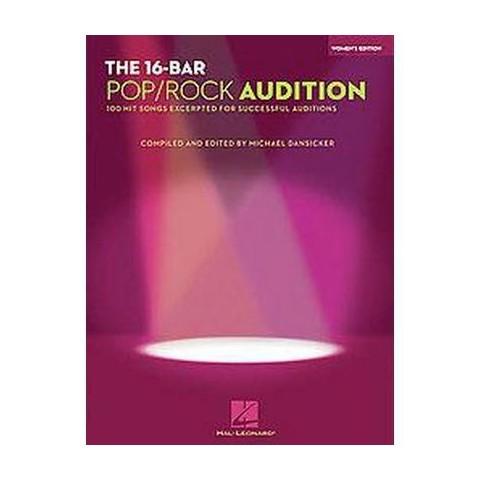 The 16-Bar Pop/ Rock Audition (Paperback)