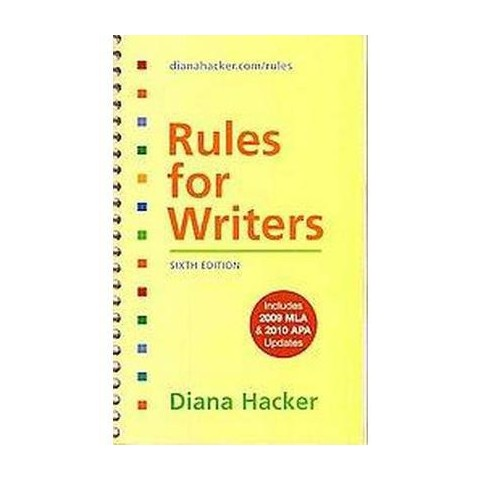 Rules for Writers (Spiral)