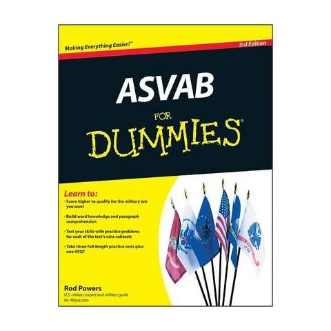 Asvab for Dummies (Paperback)
