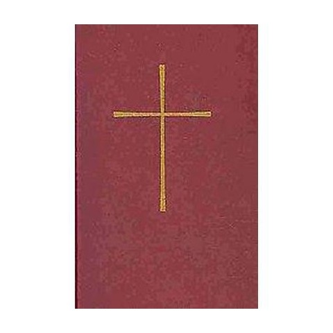 Book of Common Prayer, Red (Bilingual) (Hardcover)