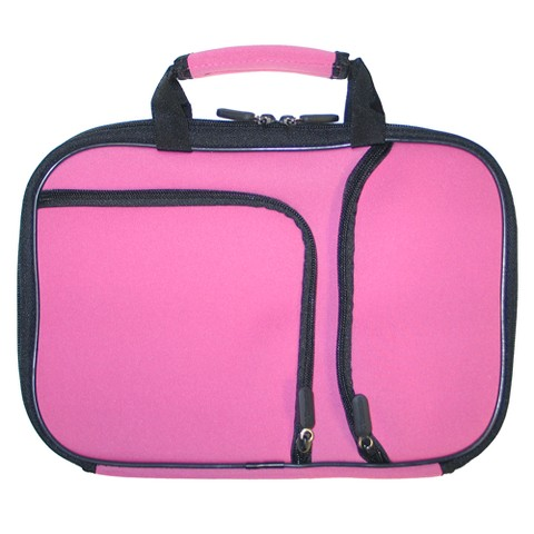 "PC Treasures 10"" PocketPro Netbook Case - Pink (07091)"